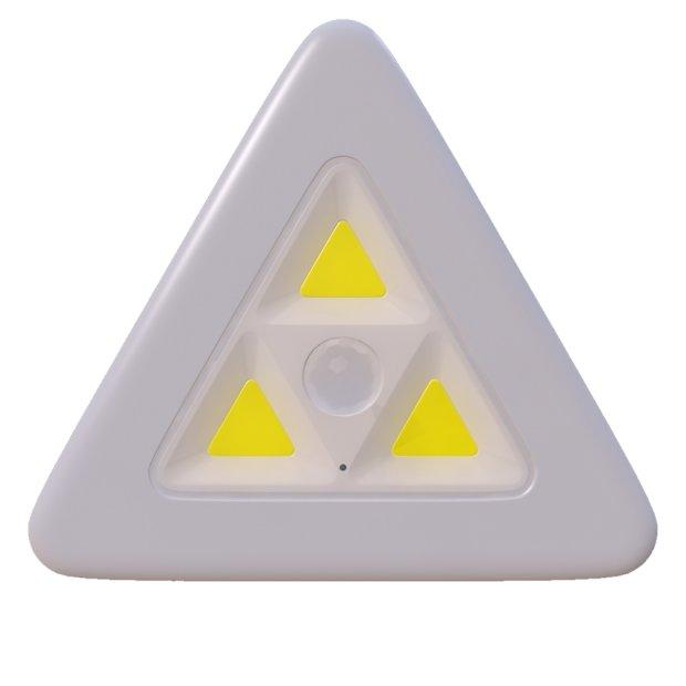 LED Sensorsleuchte Eck-Nachtlicht mit Bewegungsmelder Dämmerungssensor