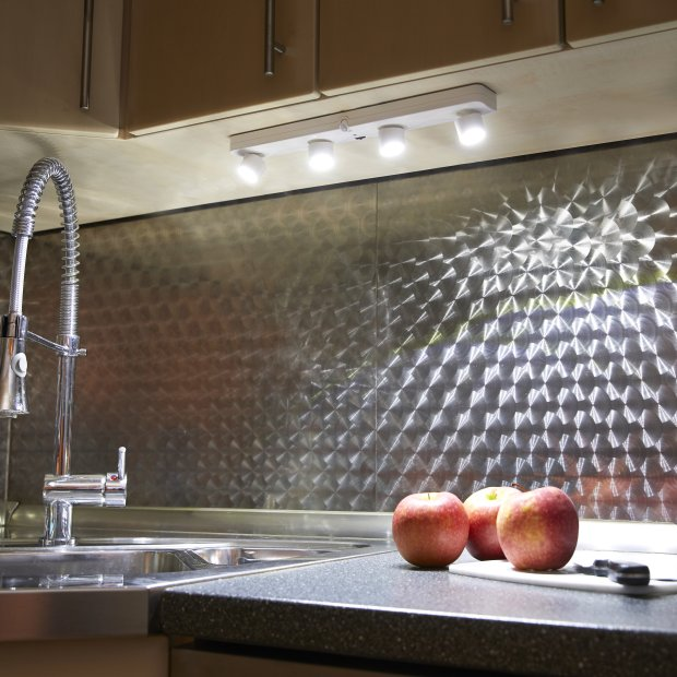 Northpoint LED Sensorleuchte 360° LED Lichtleiste mit Dämmerungssensor und verstellbarem Bewegungsmelder