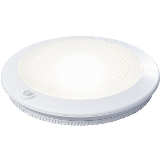 LED Deckenleuchte/ Wandleuchte Aufladbar mit Bewegungsmelder / Dämmerungssensor USB 30s Timer Montagematerial