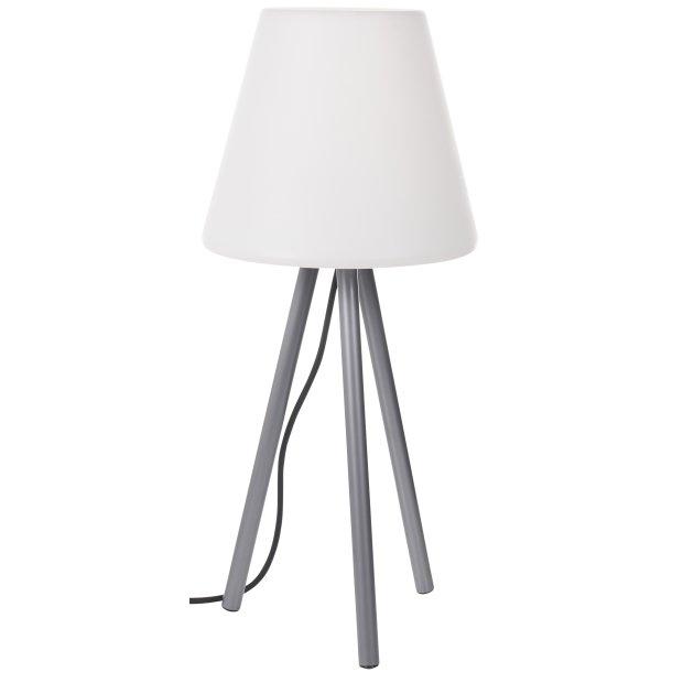 LED Outdoor Gartenlampe 64cm inkl. auswechselbarer E27...