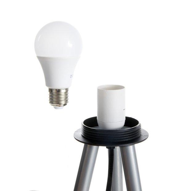 LED Outdoor Gartenlampe 64cm inkl. auswechselbarer E27 Glühbirne
