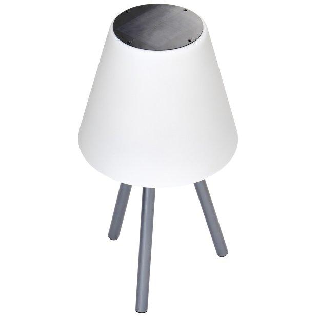 LED Lampe mit Solar Panel und integriertem Akku kabellos...