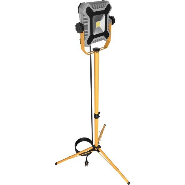 Northpoint Heavy Duty COB LED Baustrahler Arbeitsstrahler 50W mit 160cm Stativ 4000 Lumen