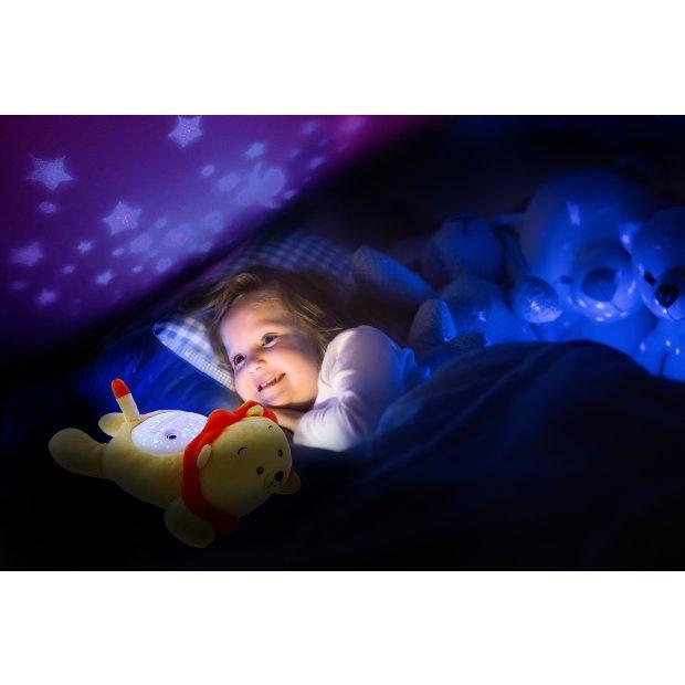 Northpoint LED Plüschtier Sternenprojektor Nachtlicht mit 13 Schlummermelodien / waschbar / Lautstärke einstellbar Löwe