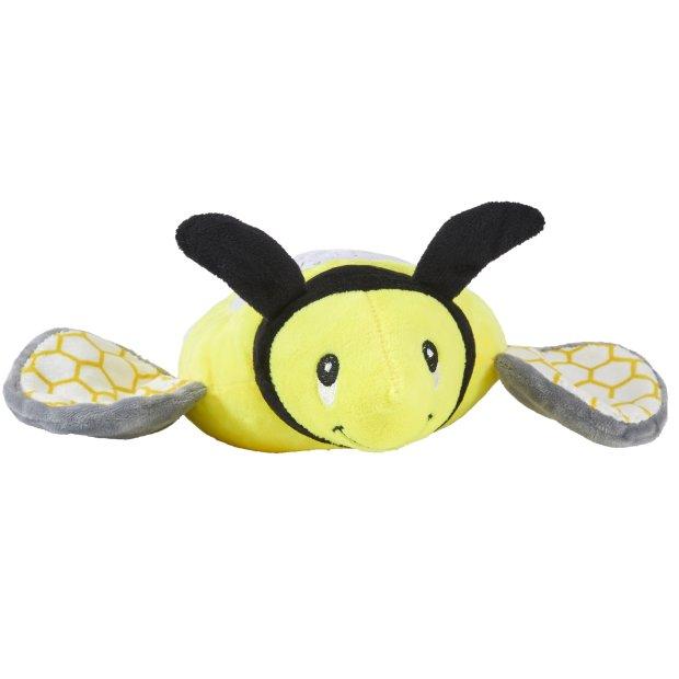Northpoint LED Plüschtier Sternenprojektor Nachtlicht mit 13 Schlummermelodien / waschbar / Lautstärke einstellbar Biene