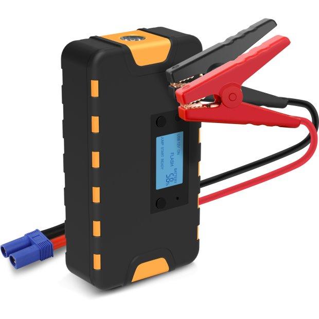 B-Ware Powerbank mit Starthilfefunktion Starthilfekabel 55,5Wh USB Ladeadapter