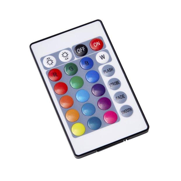 Northpoint Smart Wifi LED Lichtsäule Kristall-Optik 120cm Stehlampe Standleuchte Stehleuchte dimmbar Farbwechsel mit Fernbedienung und Fußschalter