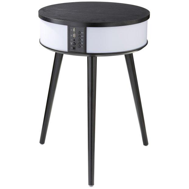 Bluetooth Lautsprecher Tisch schwarz