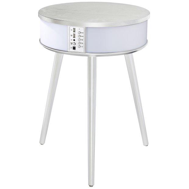 Bluetooth Lautsprecher Tisch weiß