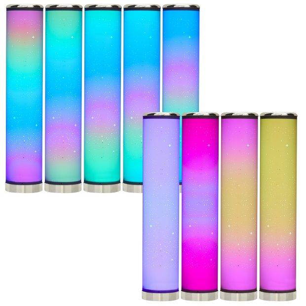 Northpoint LED Lichtsäule verschiedene Varianten Digital RGB 64cm Soundsensor