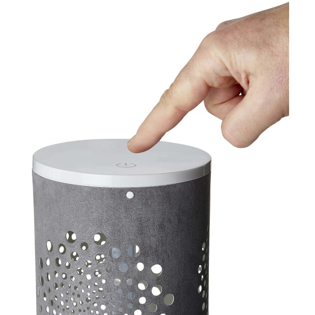 LED Mini Lichtsäule Windrose - Grau