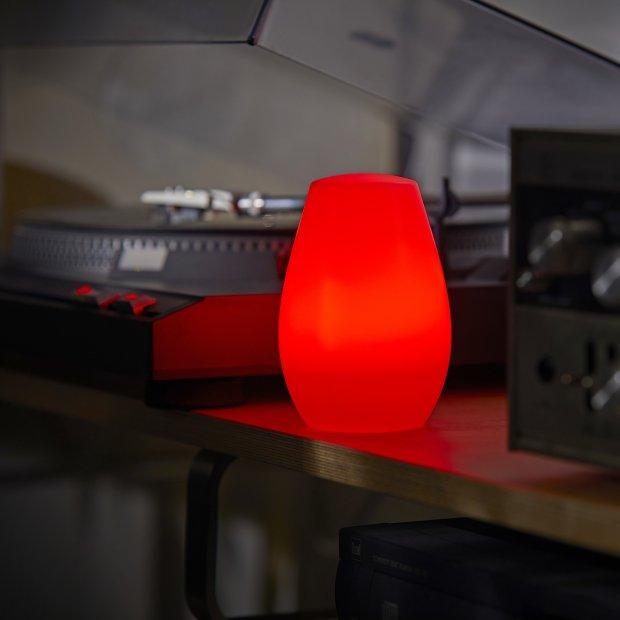 LED Steckdosen Nachtlicht warmweiß & farbig Taschenlampe Weiß Wandleuchte Multifunktion Bewegungsmelder Induktionsladung Akku Notlicht Notlampe Stromausfall Oval