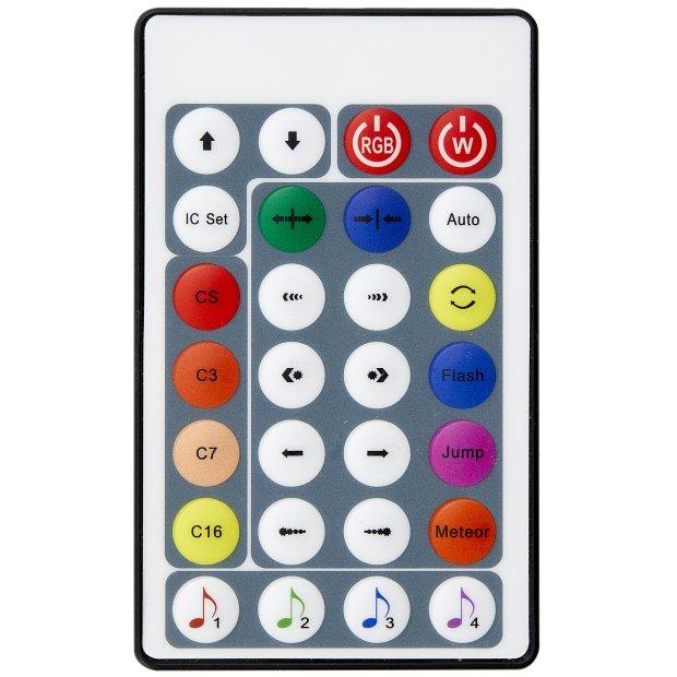 Northpoint LED Lichtsäule Stehlampe Standleuchte Stehleuchte dimmbar Farbwechsel und Musikfunktion mit Fernbedienung