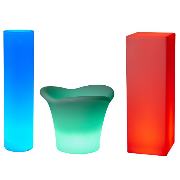 Northpoint LED Figuren Outdoor mit integriertem Akku und Farbwechselfunktion Fernbedienung