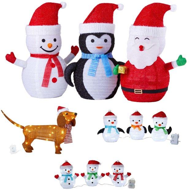Northpoint LED Weihnachtsfiguren mit integriertem Timer