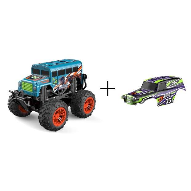 Northpoint Ferngesteuerte Autos Monstertruck Grün