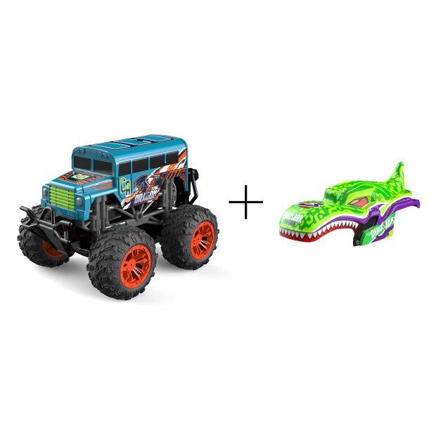 Northpoint Ferngesteuerte Autos Monstertruck Dino Grün