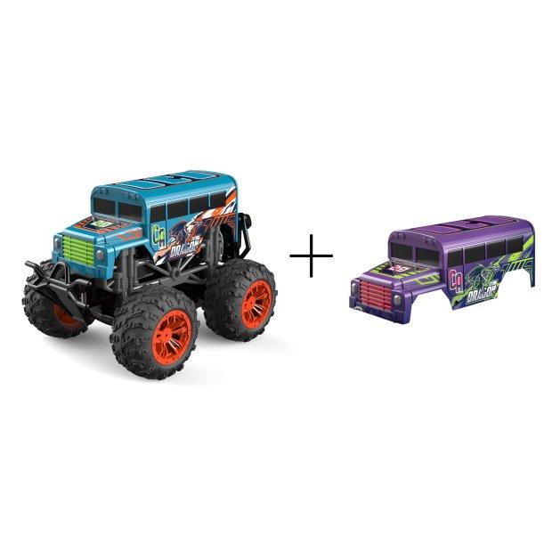 Northpoint Ferngesteuerte Autos Monstertruck Bus Lila