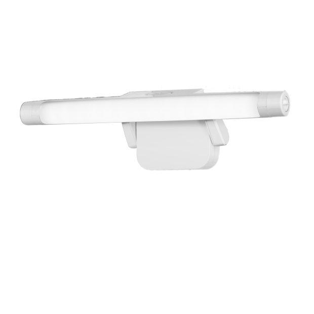 Northpoint LED Bilderleuchte 5000K (Tageslichtweiß) Verstellbare LED Wandleuchte Spiegelleuchte Badlampe, Batteriebetrieben mit 300 ° Schwenkradius
