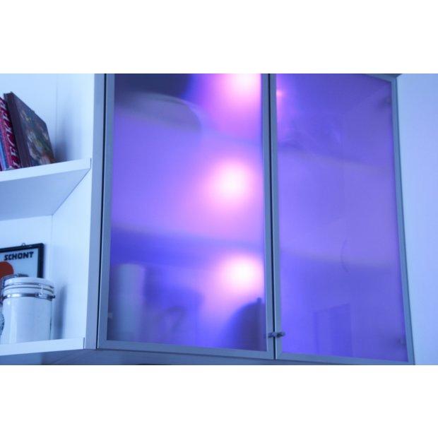 led beleuchtungsspots rgb und warmwei dimmbar mit timerfunktion fern. Black Bedroom Furniture Sets. Home Design Ideas