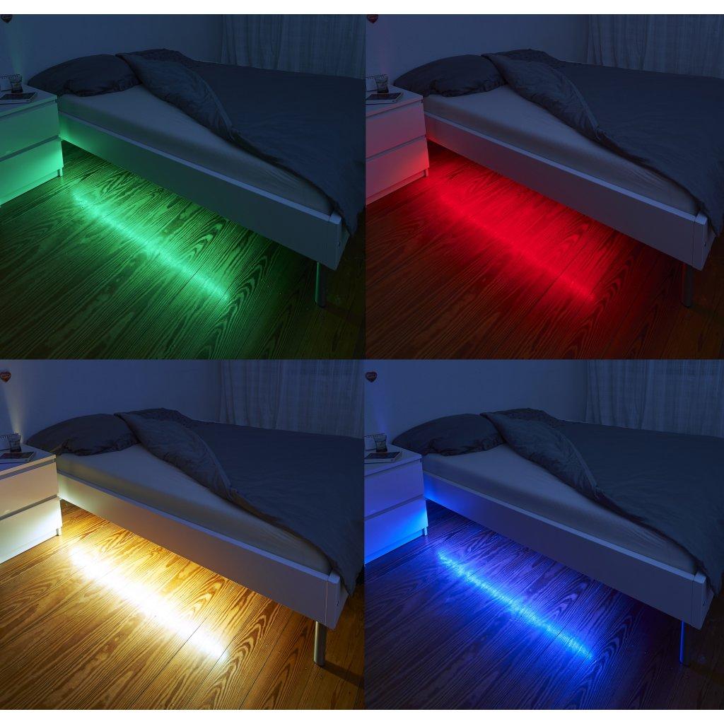 Northpoint LED Beleuchtungsset Bettbeleuchtung Bewegungsmelder Fernbe