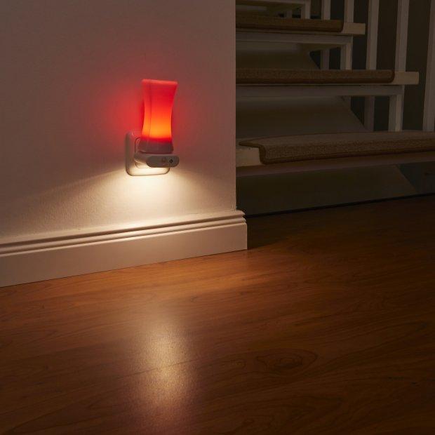 LED Steckdosen Nachtlicht warmweiß & farbig Taschenlampe Weiß Wandleuchte Multifunktion Bewegungsmelder Induktionsladung Akku Notlicht Notlampe Stromausfall Zylinder