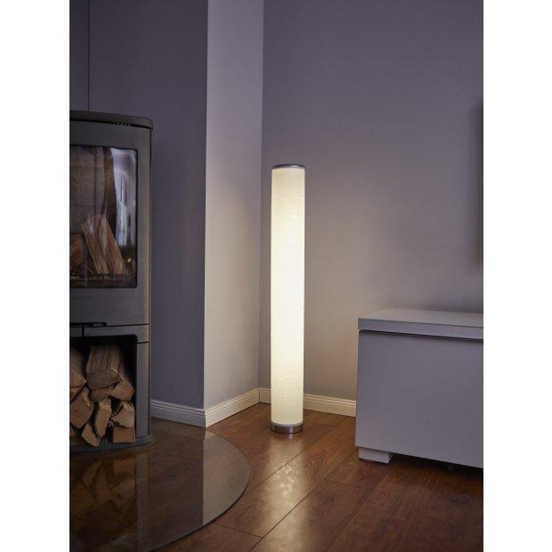 Northpoint LED Lichtsäule mit Sternenmuster Stehlampe Standleuchte Stehleuchte dimmbar Farbwechsel mit Fernbedienung