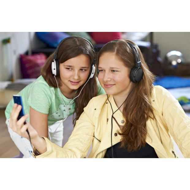 Kopfhörer für Kinder mit Lautstärkebegrenzung